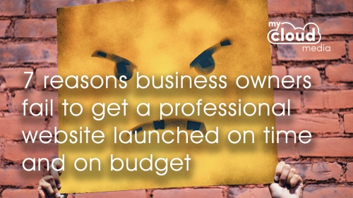 7 reasons business owners fail to get a professional website launched on time and on budget