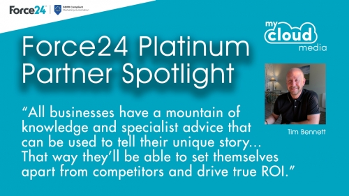 Marketing Automation Specialists Force24 Spotlight Platinum Partner