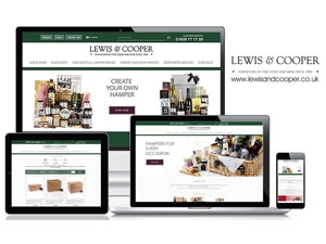 Lewis & Cooper Hamper Ecommerce Website Ready for the Christmas Rush