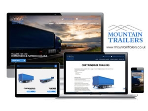 Mountain Trailers Rentals Website Project Goes Live