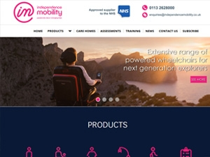 Independence Mobility Rebrand For Website