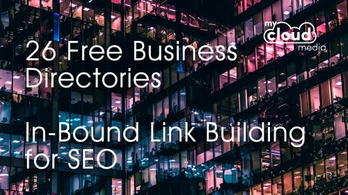 26 Free Business Directories - In-Bound Link Building for SEO