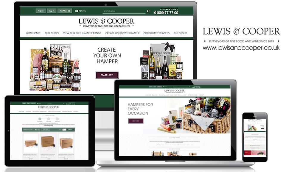 Lewis & Cooper Hampers