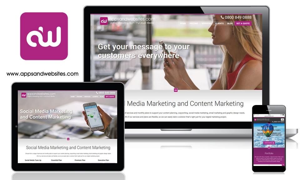 Apps and Websites - Social Media Marketing