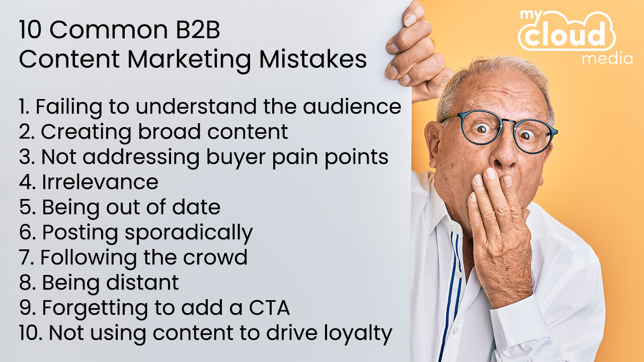 10 Content Marketing Mistakes