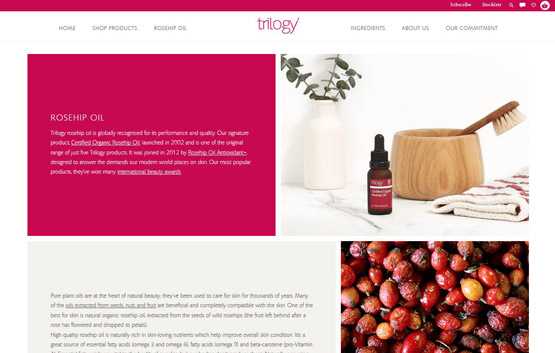 Trilogy Products