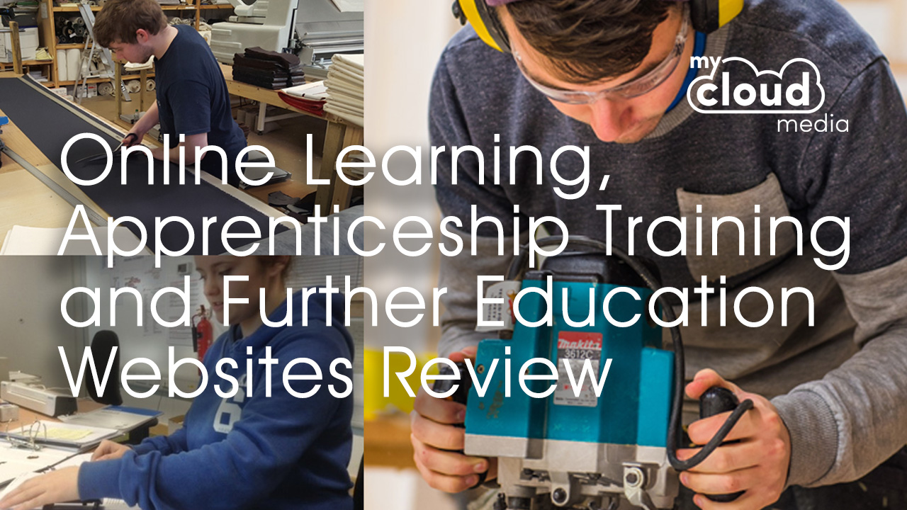 Online Learning, Apprenticeship Training and Further Education Websites Review