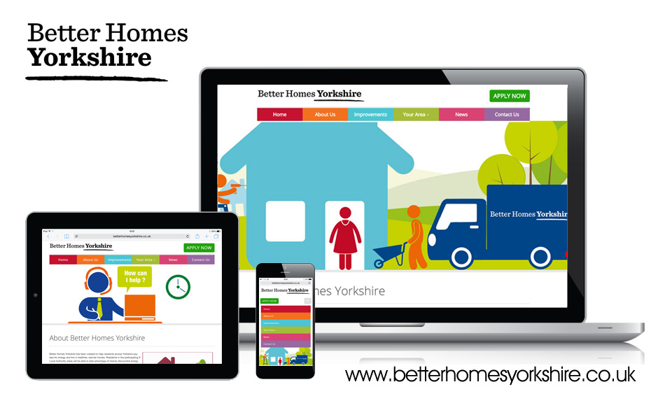 Lead generation Better Homes Yorkshire website