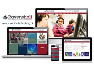 Ravenshall School - Responsive Website Design with CMS