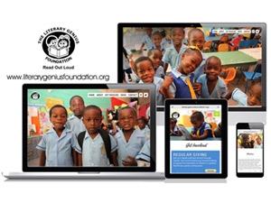 Literary Genius Foundation - Responsive Website for Jamaican Charity