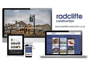 Radcliffe Construction - Responsive Website Design
