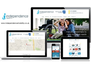 Independence Mobility - Responsive Website Design