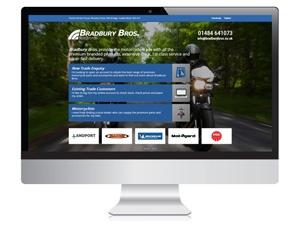 Bradbury Bros Motorcycle Trade Website