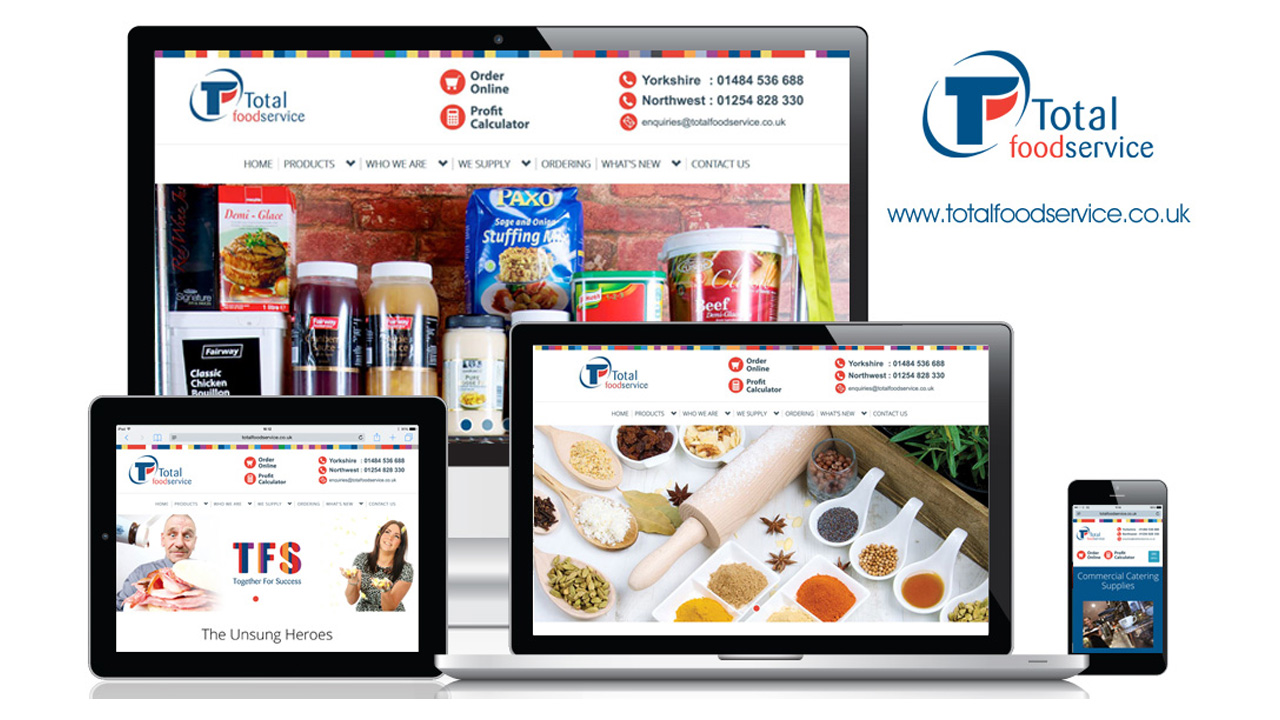Total Foodservice Solutions - Corporate Website - Responsive Design