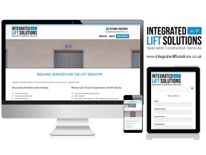 Integrated Lift Solutions - Website with Contact Form for Free Surveys
