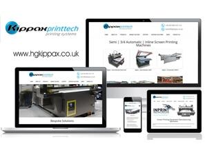 HG Kippax - Kippax Printtech Responsive Website Design