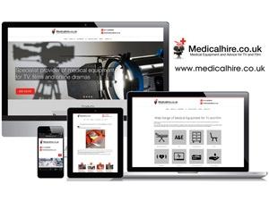Medical Hire Leeds - Responsive Website Design