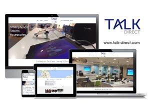 Talk Direct Leeds - O2 Franchise - Responsive Website
